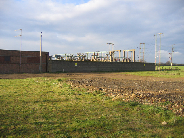 Electricity sub-station, West Deeping, Lincs