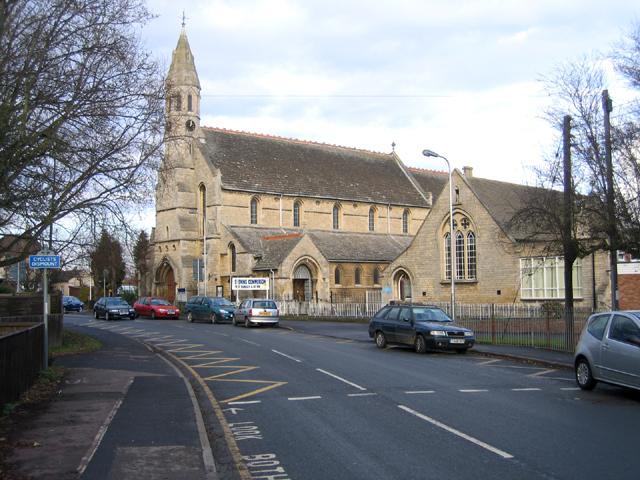 St John the Baptist parish church and primary school, Spalding, Lincs