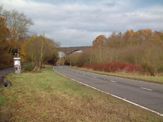 Viaduct over Misbourne Valley