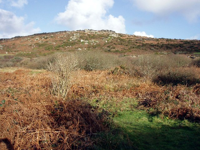 Zennor hill above the Foage valley