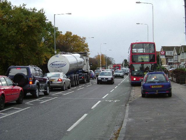 Traffic Jam on Whalebone Lane