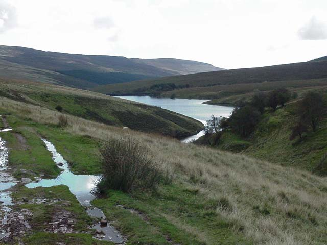 Above the Grwyne Fawr Reservoir