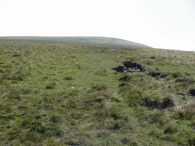Climbing Waun Fach from the north