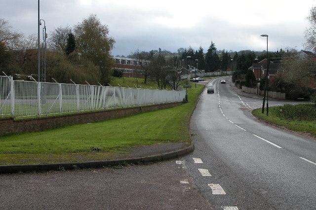Road approaching Mitcheldean