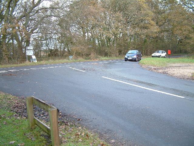 Cripplestyle Road Junction, Dorset