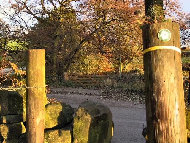 Potters Lane Footpath