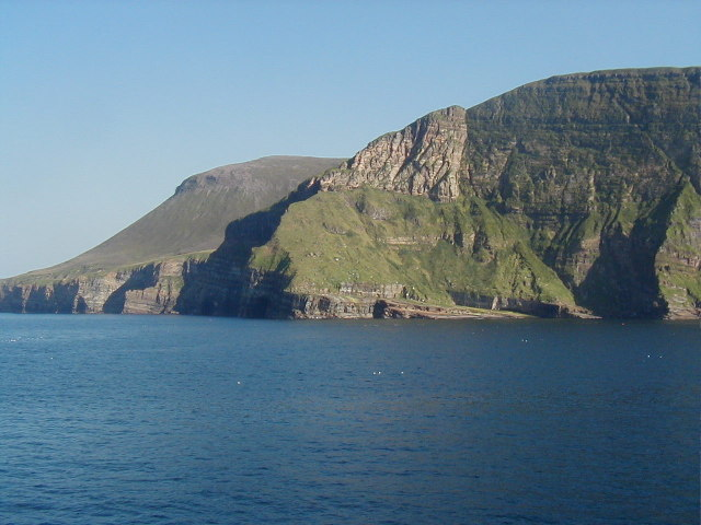Cliffs near Kame of Hoy