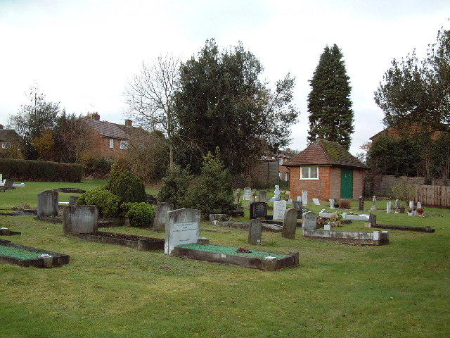 Cemetery at Dibden Hill