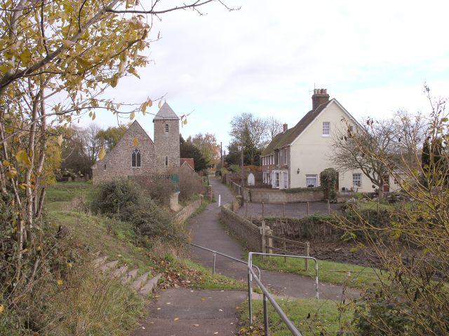Village Scene in Lower Halstow