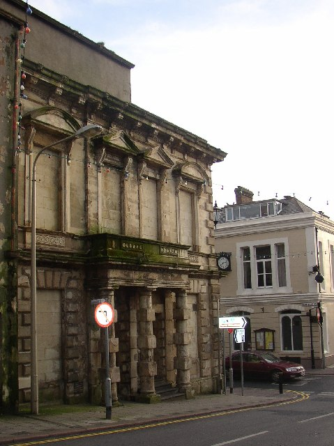 Disused bank, High Street, Maryport