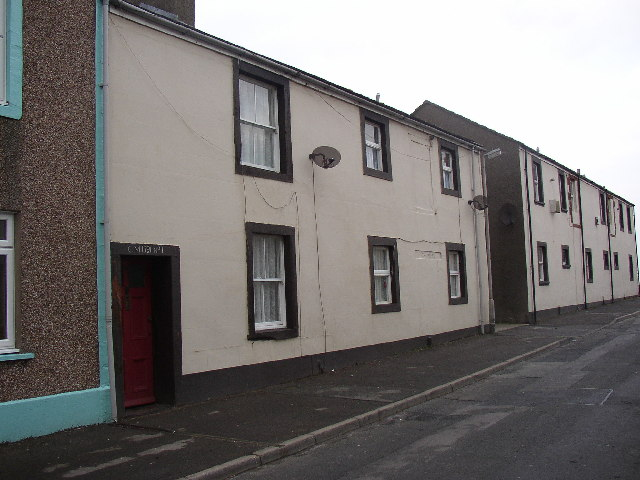 Houses on King Street, Maryport