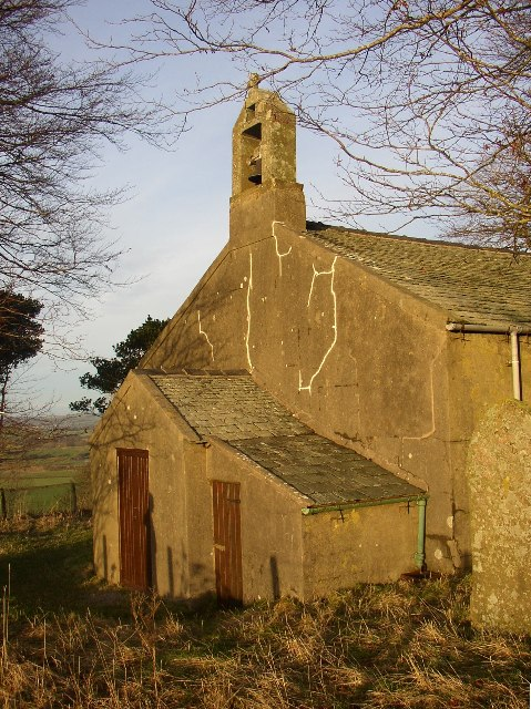 St Michael's Church, Mosser, porch and belfry
