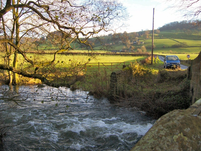 River in Spate at Congreave