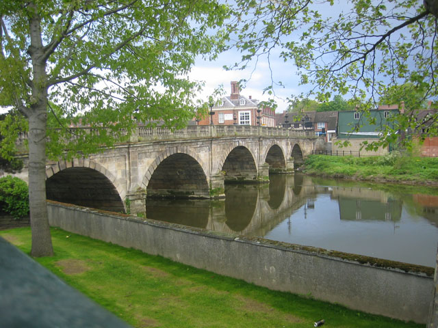 The Welsh Bridge, Shrewsbury
