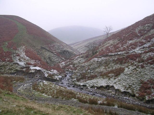Chapel Beck Stream Junction, Howgills