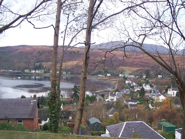 View from Garelochhead Station