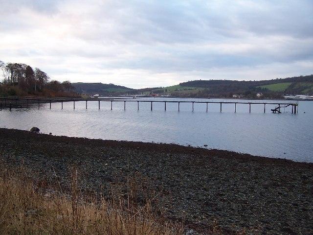 Gare Loch, Jetty near Rhu