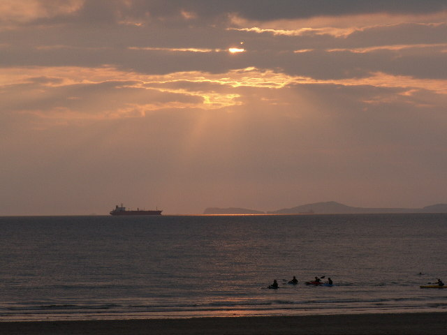 St Brides Bay from Broadhaven Beach