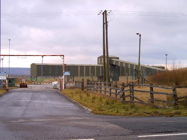 Cwm Bargoed Coal Depot