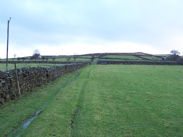 Green Lane leading away from Dallowgill to Greygarth