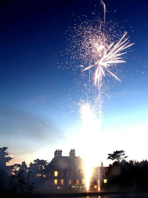 Forty Hall Firework display 2005