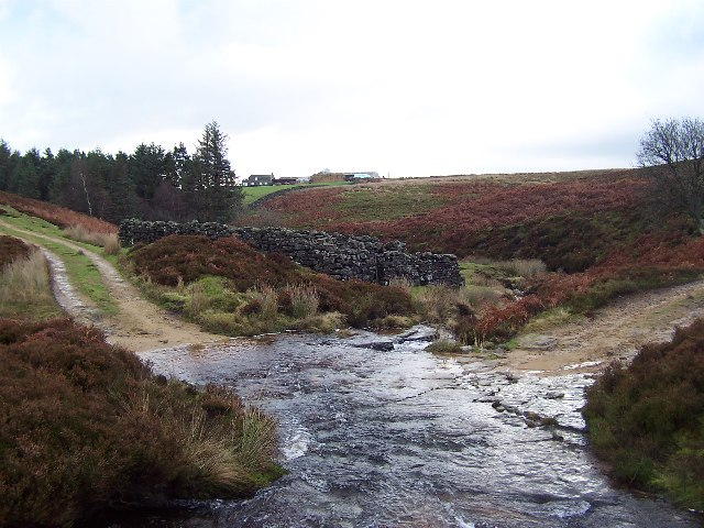 Ford over Carlesmoor Beck