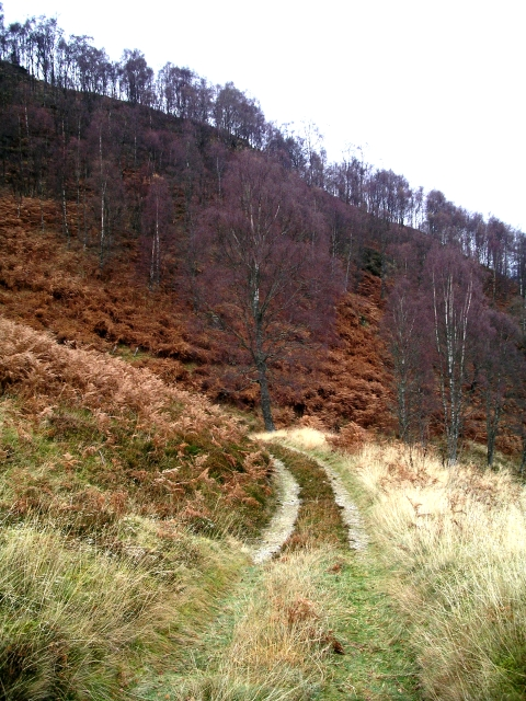 Landrover track, Coire a' Chaoruinn