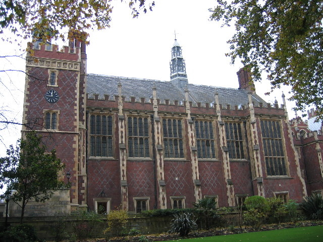 The Great Hall, Lincoln's Inn, London WC2