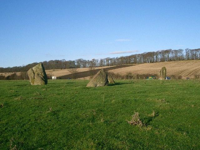 Tulliyies Standing Stones.