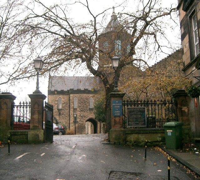 Falkirk Old Church.