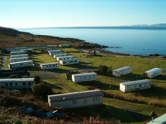 Caravan Site at Port Ban