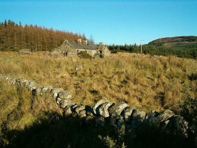 Disused Farmstead, Balure