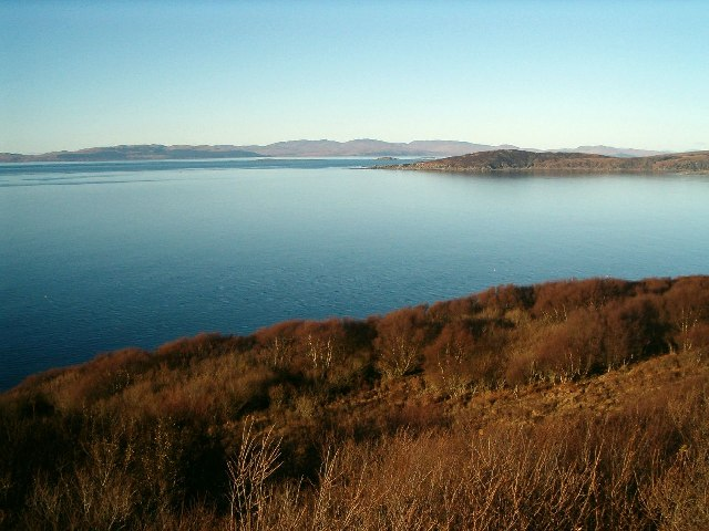 View from Knapdale