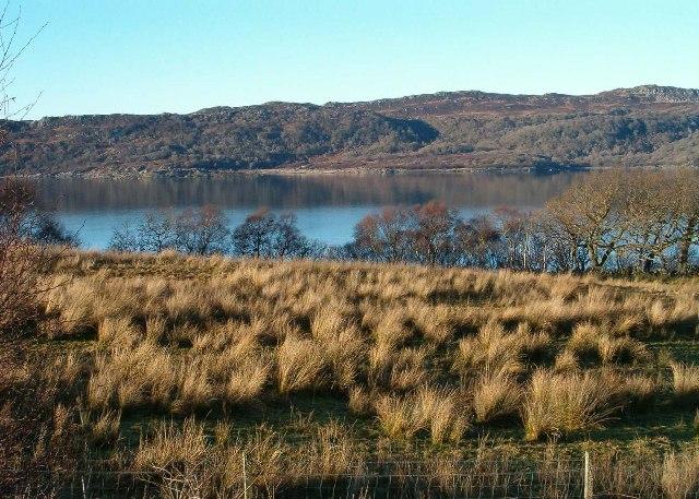 View towards Loch Caolisport