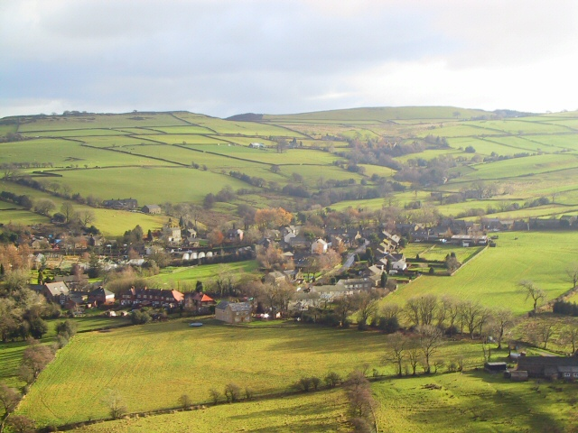 Looking Down on Kettleshulme