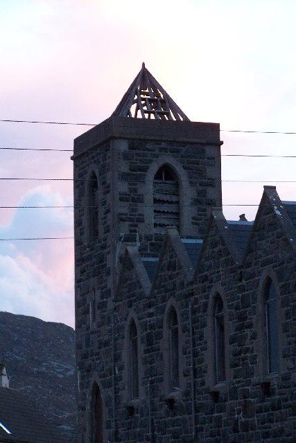 Disused church at Castlebay