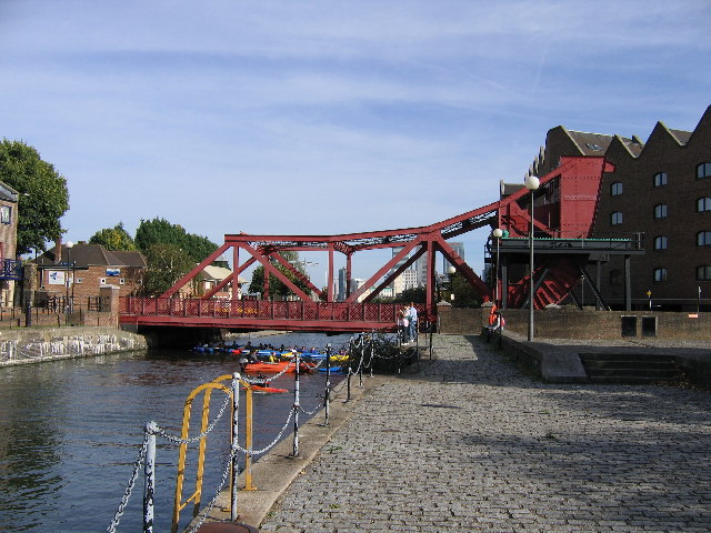 Bridge at Shadwell Basin