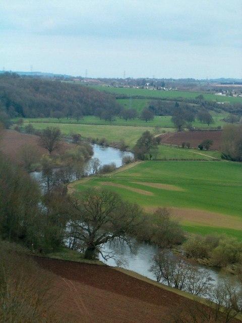 River Wye from Goodrich Castle