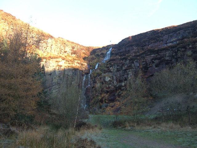 Waterfall, Pingot Quarry, Shaw