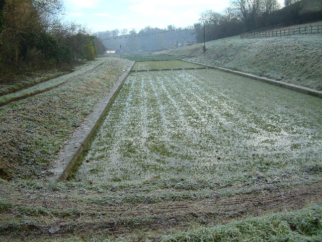 Watercress beds, Broad Chalke, Wiltshire