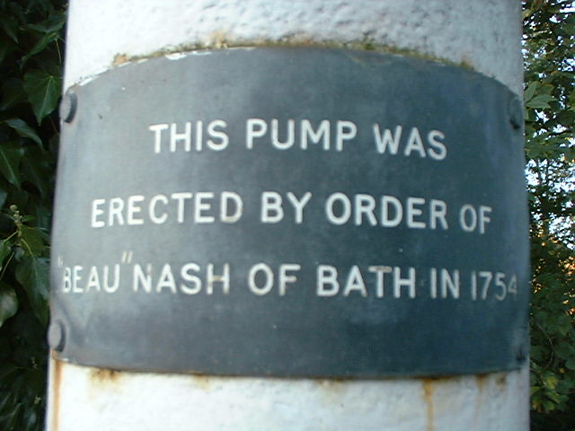 Poyle Pump - inscription on the pump
