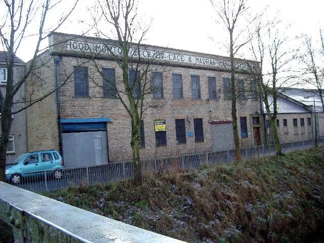 Former lace mill.