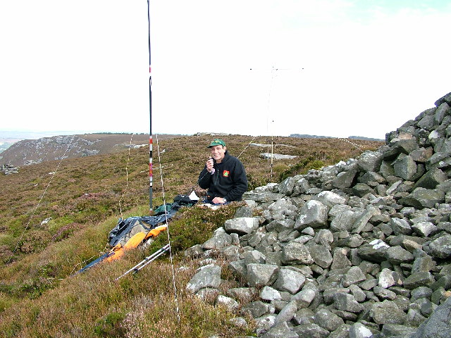 SOTA Activation of Tosson Hill 24th September 2005