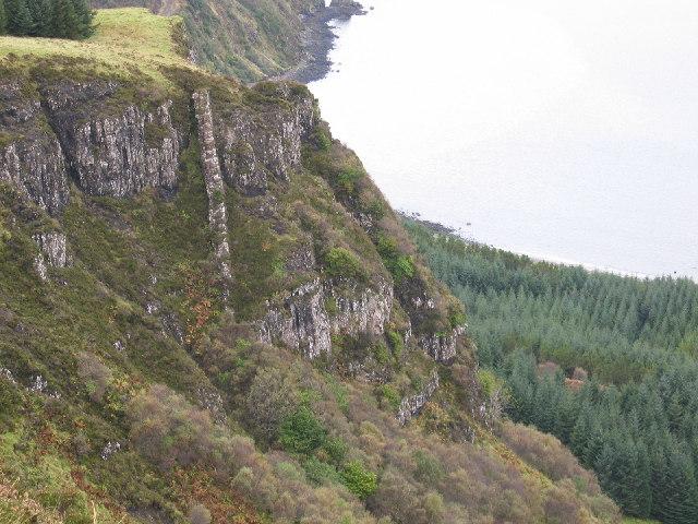 Beinn An Sguirr Clifftop