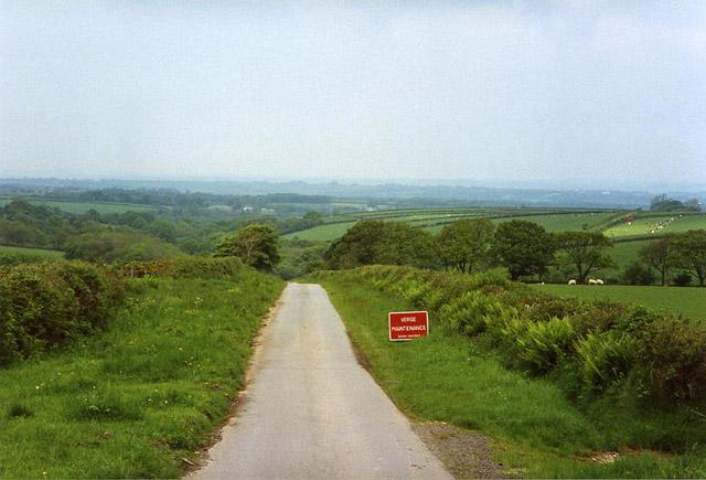 Beaworthy: lane on Venn Down