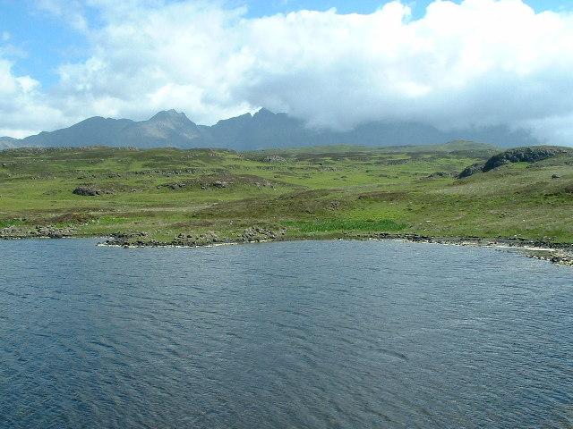 Loch na h-Aoirde with Cuillin