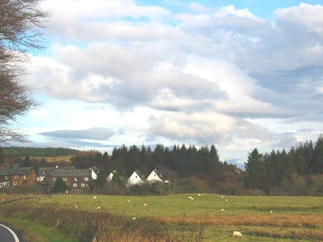 Port Ann village, A83 Argyll.