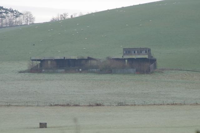 Disused Grandstand, Dean Prior, Devon
