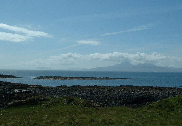 the view to Eigg and Rum