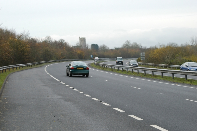 A38 near Bickington, Devon